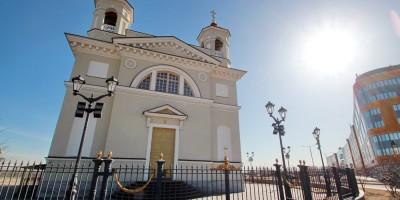 Пулковское, Смоленская церковь у Экспофорума