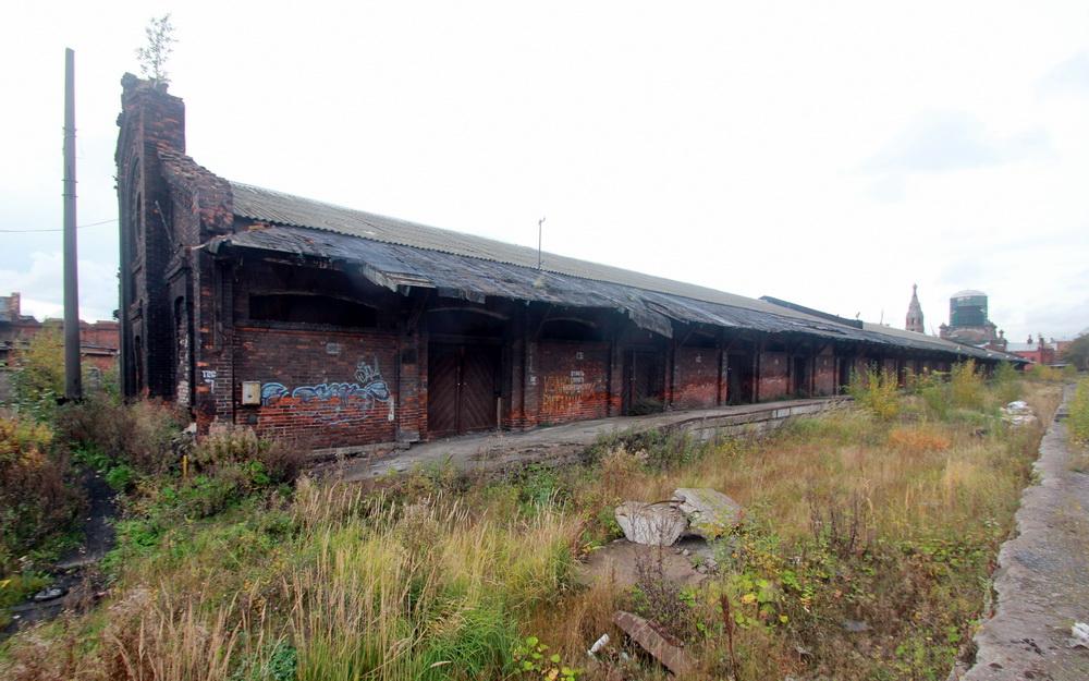 Северо-восточный пакгауз Варшавского вокзала
