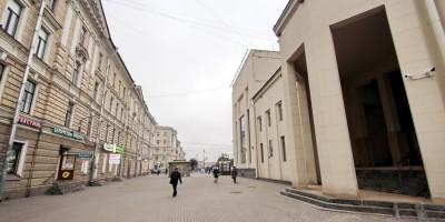 Улица Архитектора Баранова, пешеходная зона