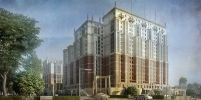 Улица Дыбенко, 8, проект жилого дома