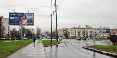Замшина улица, столб ЛЭП