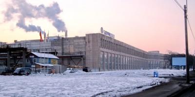 Завод Баррикада на Октябрьской набережной