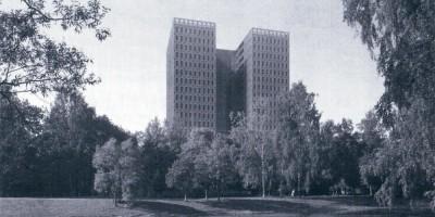Жилой дом на аллее Академика Лихачева