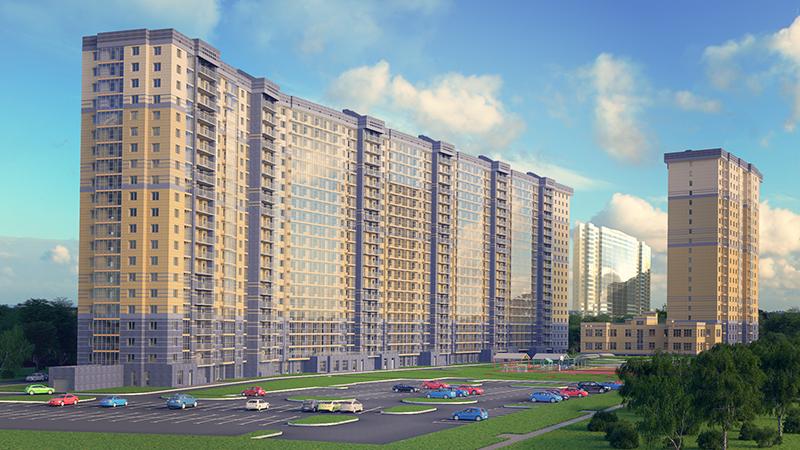 Жилой комплекс на Полевой Сабировской улице, 45а