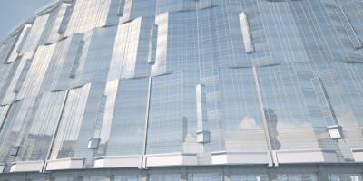 Жилой комплекс на Уткином проспекте, лицевой фасад