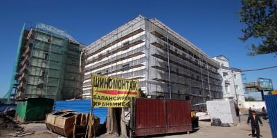 Центральная военно-морская библиотека на Кожевенной линии, ремонт