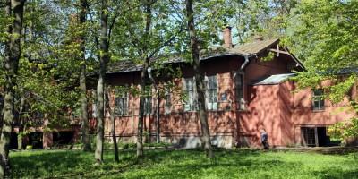 Деревянный корпус больницы на Васильевском острове