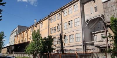 Мельница Петербургских товарных складов на Мельничной улице, южная часть