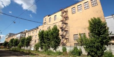 Мельница Петербургских товарных складов на Мельничной улице, северная часть