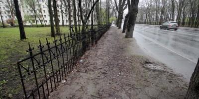 Новороссийская улица, решетка дачи Гейда