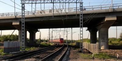 Петербургское шоссе, новый путепровод