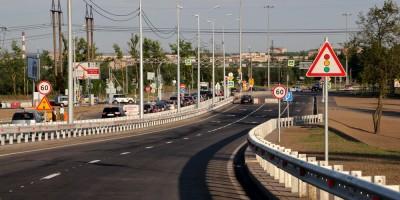 Петербургское шоссе, перекресток с Витебским проспектом