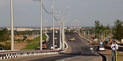 Петербургское шоссе, путепровод