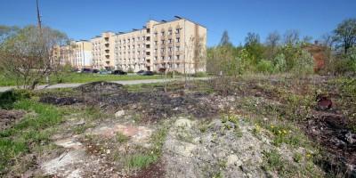 Петергоф, Суворовский городок, снесенная казарма
