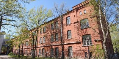 Петергоф, улица Юты Бондаровской, дом 21