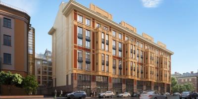 Проект дома творчества на 2-й Советской улице, 4б, RBI