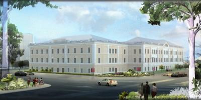 Проект реконструкции госпиталя