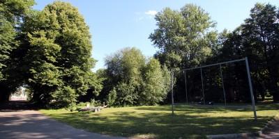 Сад дома Ропса на Петровской косе