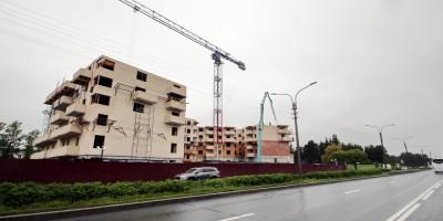 Сестрорецк, строительство жилого дома на Приморском шоссе