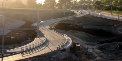 Соколиная улица, мост через Пулковку