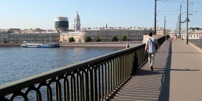 Тучков мост, перила