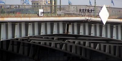 Тучков мост, разводной пролет