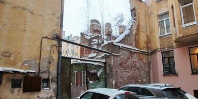 Улица Графтио, дом 2б, флигель в руинах