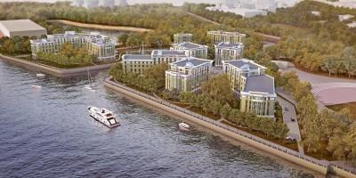 Жилой комплекс на Петровском острове