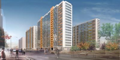 Жилой комплекс на Среднерогатской улице