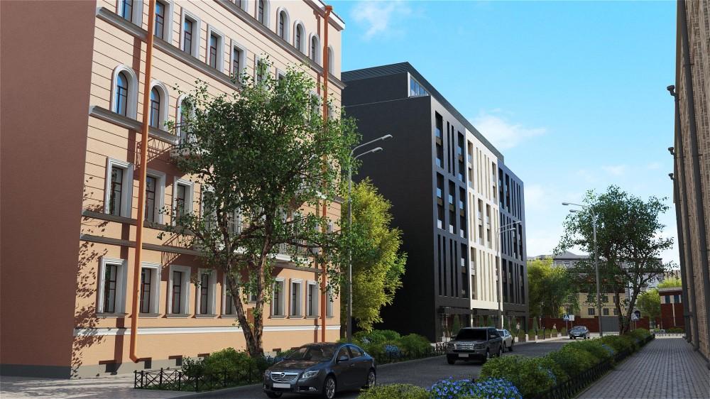 Апарт-отель, улица Александра Невского