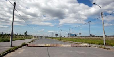 Автозаводский проезд вдоль КАД