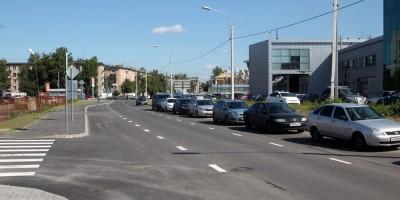 Брантовская дорога в сторону проспекта Металлистов