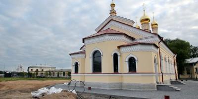 Церковь Пантелеимона на Свердловской набережной, алтарь