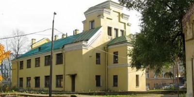 Церковь Пантелеимона на Свердловской набережной до реконструкции