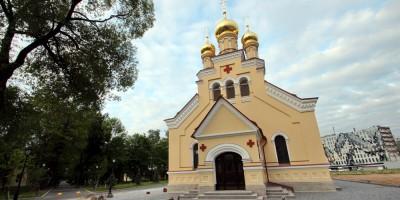 Церковь Пантелеимона на Свердловской набережной, звонница