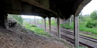 Гореловский путепровод, конструкции
