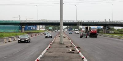 Московское шоссе, северный путепровод