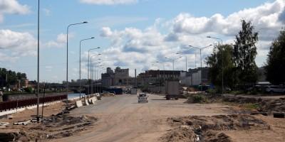 Набережная Обводного канала, строительство