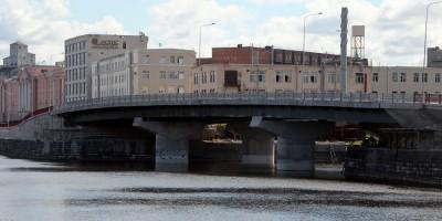 Набережная Обводного канала, строительство моста