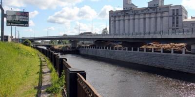 Набережная Обводного канала, строительство путепровода