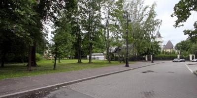 Набережная реки Крестовки, участок