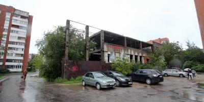 Недостроенное здание на проспекте Королева, 46, корпус 4