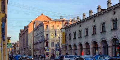 Вид на новое здание музея Достоевского