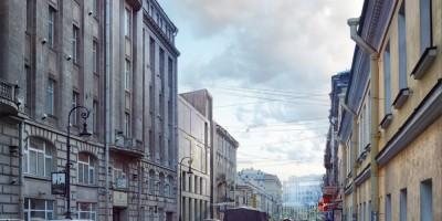 Концепция застройки Кузнечного переулка