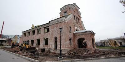 Реконструкция Пантелеимоновской церкви на Свердловской