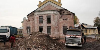 Реконструкция Пантелеимоновской церкви на Свердловской, алтарь