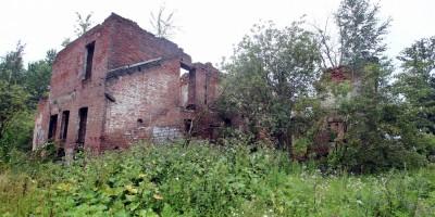 Рыбацкое, Зотов дом, дворовый фасад