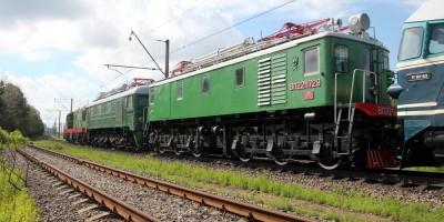 Состав старых локомотивов