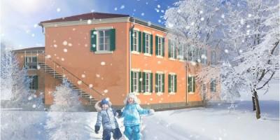 Проект здания в Павловске