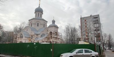 Тихвинская церковь на улице Софьи Ковалевской